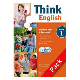 THINK ENGLISH 1   MISTO SPECIAL LANG. ESS. + SB&WB + CULTURE BOOK + MY DIGITAL BOOK + ESPANSIONE ONL