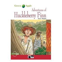ADVENTURES OF HUCKLEBERRY FINN + CD