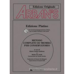 ARBAN`S. CON CD AUDIO. EDIZ. ITALIANA