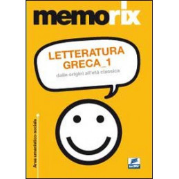 MEMORIX LETTERATURA GRECA