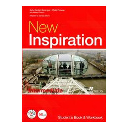 NEW INSPIRATION   INTERMEDIATE STUDENT`S BOOK AND WORKBOOK + STAY ON THE RIGHT TRACK! + ME BOOK STUD