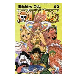ONE PIECE NEW EDITION N. 63