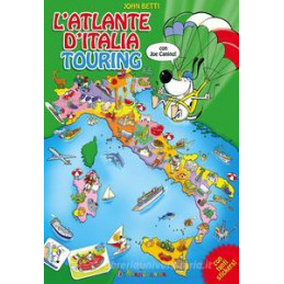 ATLANTE D`ITALIA TOURING. CON ADESIVI. EDIZ. ILLUSTRATA (L`)