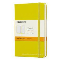 NOTEBOOK POCKET RUL HARD COVER DANDELION YELLOW