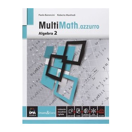 MULTIMATH.AZZURRO ALGEBRA 2