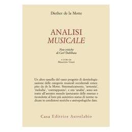 ANALISI MUSICALE (L`)