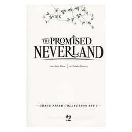 PROMISED NEVERLAND. GRACE FIELD COLLECTION SET (THE). VOL. 1