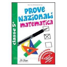 MATEMATICA PROVE NAZIONALI CL. 5°PRIM.