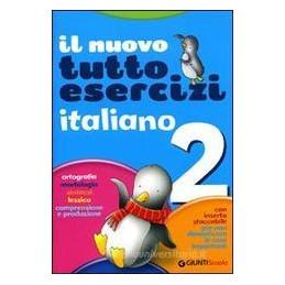 NUOVO TUTTOESERCIZI ITALIANO 2 X ELEM.