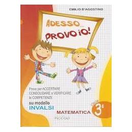 ADESSO... PROVO IO! CON LA PROVA NAZIONALE 2012 2013 MATEMATICA 3ª