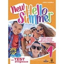 NEW HELLO SUMMER 1 VACANZE INGLESE