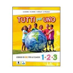 TUTTI PER UNO 1 2 3   LIBRO MISTO  Vol. U