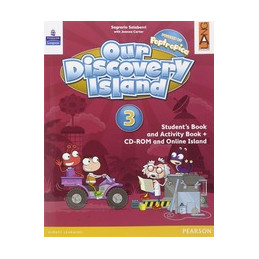 OUR DISCOVERY ISLAND 3 LIBRO CARTACEO+CD ROM Vol. 3