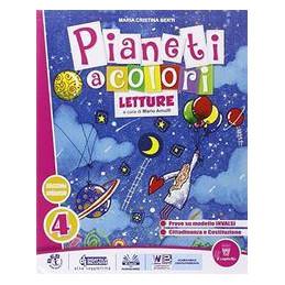 PIANETI A COLORI 4 LIBRO DEI LINGUAGGI Vol. 1