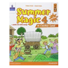 SUMMER MAGIC 4 LIBRO CARTACEO + CD AUDIO Vol. 4
