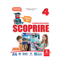 TUTTO DA SCOPRIRE 4 - MATE/SCIENZE  Vol. 1