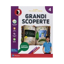 GRANDI SCOPERTE 4 - SCIENTIFICO  Vol. 1