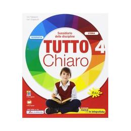 TUTTO CHIARO ANTROPOLOGICO CL. 4  Vol. 1