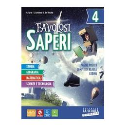FAVOLOSI SAPERI - STORIA-GEOGRAFIA 5 + DVD ALUNNO 5 57940  Vol. U