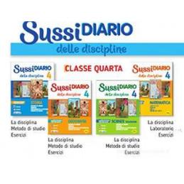 SUSSIDIARIO DELLE DISCIPLINE CL. 4 AREE ANTROPOLOGICA+MATEMATICO-SCIENTIFICA  Vol. 1