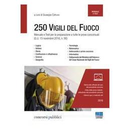 250 VIGILI DEL FUOCO