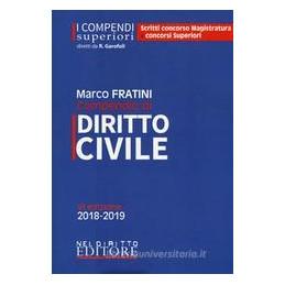 COMPENDIO DI DIRITTO CIVILE 2019