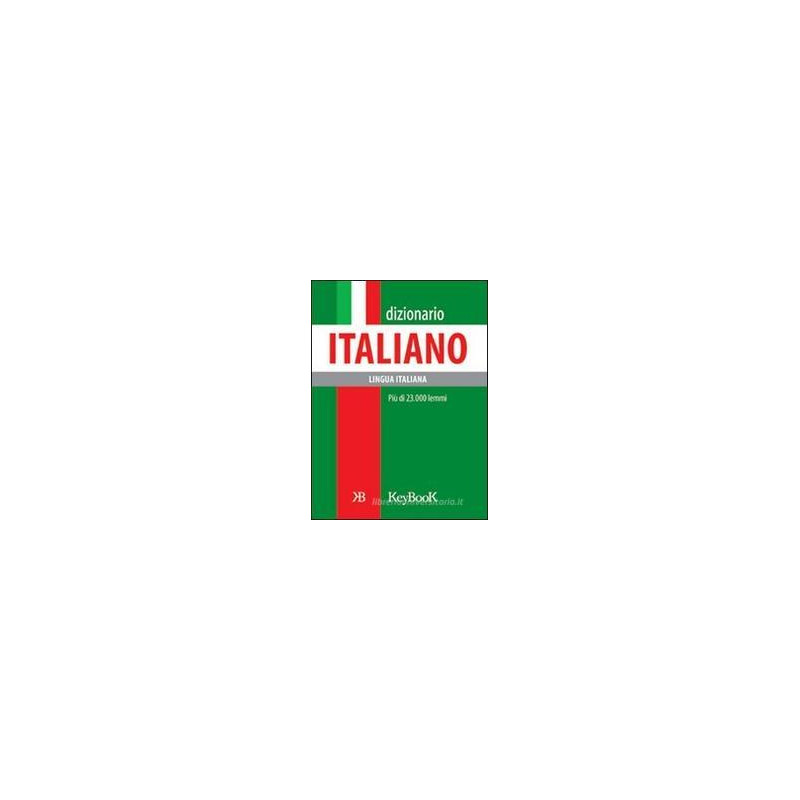 DIZIONARIO ITALIANO, TASC.