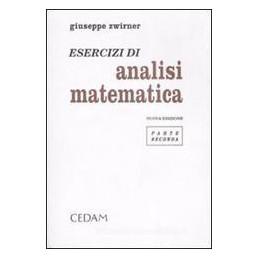ESERCIZI E COMPL.ANALISI MATEMAT.2