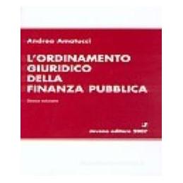 ORDINAMENTO GIURIDICO NELLA FINANZA PUBBLICA