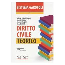 DIRITTO CIVILE. TEORICO VOL.1