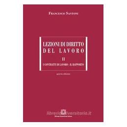 LEZIONI DI DIRITTO DEL LAVORO VOL.2