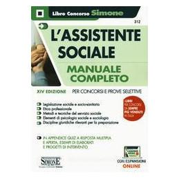 ASSISTENTE SOCIALE MANUALE COMPLETO