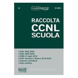 RACCOLTA CCNL SCUOLA - PER DIRIGENTI SCOLASTICI, DSGA E DOCENTI