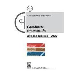 COORDINATE ERMENEUTICHE. AGGIORNAMENTO 2020