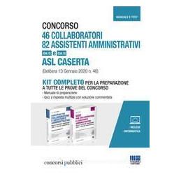 CONCORSO 46 COLLABORATORI 82 ASSISTENTI AMMINISTRATIVI ASL CASERTA