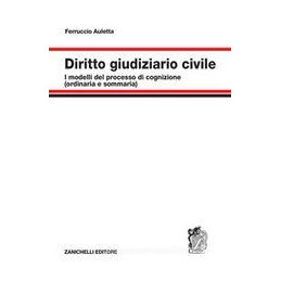 DIRITTO GIUDIZIARIO CIVILE. I MODELLI DEL PROCESSO DI COGNIZIONE (ORDINARIA E SOMMARIA)