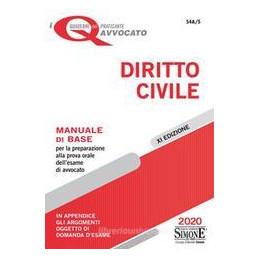 DIRITTO CIVILE MANUALE BASE