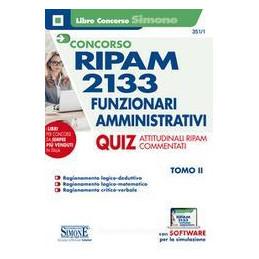 RIPAM 2133 FUNZIONARI AMMINISTRATIVI QUIZ