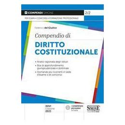 COMPENDIO DIRITTO COSTITUZIONALE