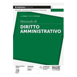 MANUALE DIRITOO AMMINISTRATIVA 2021