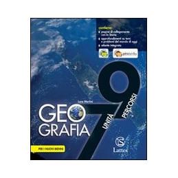 GEOGRAFIA 7 UNITA`   9 PERCORSI CON ATLANTE  Vol. U