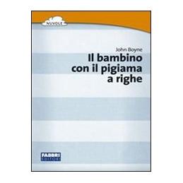 BAMBINO CON IL PIAGIAMA A RIGHE (IL)  VOL. U