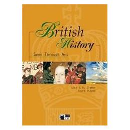 BRITISH HISTORY SEEN TROUGH ART + CD  VOL. U