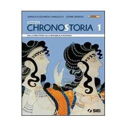 CHRONOSTORIA 1   EDIZIONE BLU + CITTADINANZA E COSTITUZ. DALLA PREISTORIA ALLA REPUBBLICA ROMANA + C