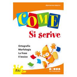 COME SI SCRIVE 4