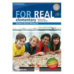 FOR REAL  ELEMENTARY   MULTIMEDIA PACK  VOL. 1
