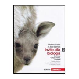 INVITO ALLA BIOLOGIA 6ED.   VOLUME 2 (LM LIBRO MISTO) GENETICA CORPO UMANO ECOLOGIA Vol. 2