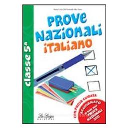 ITALIANO PROVE CL. 5°PRIMARIA