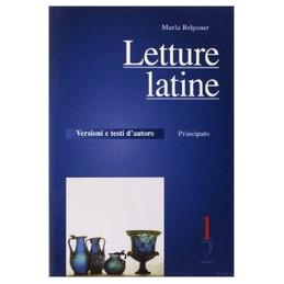 LETTURE LATINE 1 + VERIFICHE