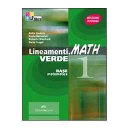 LINEAMENTI.MATH VERDE VOLUME 2 + CD ROM Vol. 2